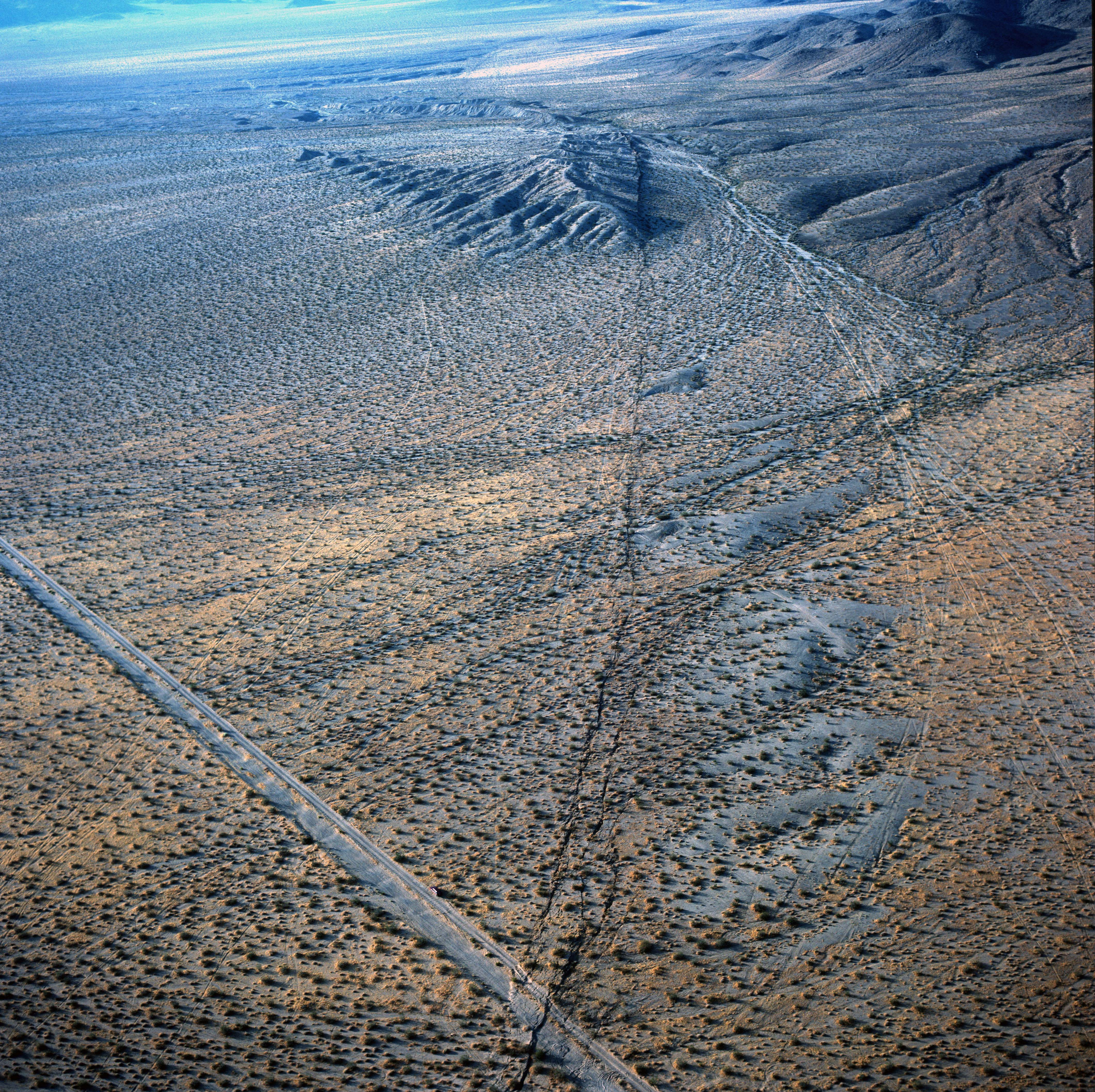 Surface Ground Rupture - Landers Earthquake
